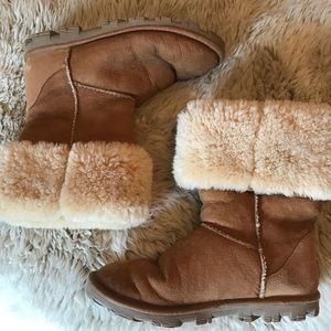 Sherpa UGG boots